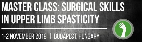 November 1-2, 2019 - Master Class: surgical skills in upper limb spasticity